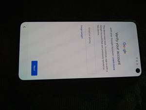New Without Box Samsung Galaxy S10e Boost Mobile FRP Google Locked Clear ESN for Sale in Glendale, AZ
