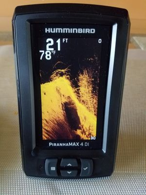 Humminbird piranha max 4 down image for Sale in Fridley, MN