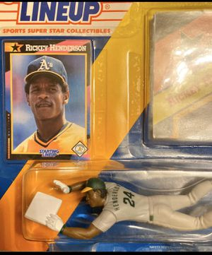 Rickey Henderson Oakland A's collectible toy for Sale in Hayward, CA