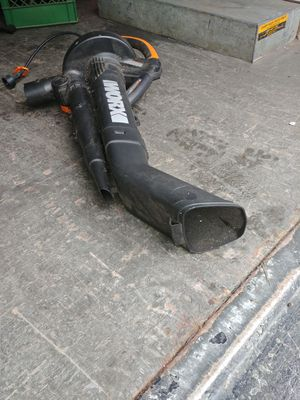Worx leaf blower for Sale in Cleveland, OH