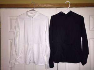 2 medium FILA SPORT dri-fit jackets woman's for Sale in Lake Mills, IA