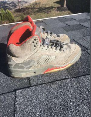 Jordan Retro 5 Camouflage Reflective Shoes for Sale in Nolensville, TN