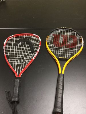 Racket ball and tennis racket for Sale in Chagrin Falls, OH