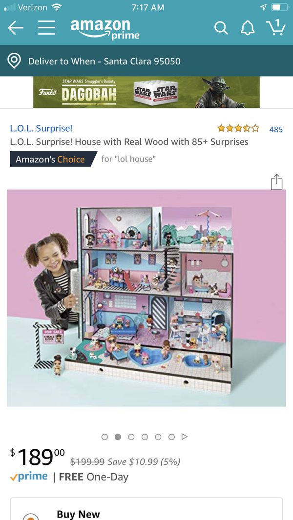 New In Box Lol Doll House Great For A Gift For Sale In Santa