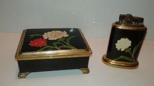 Vintage Omscolite Lighter & Cig Box for Sale in West Palm Beach, FL