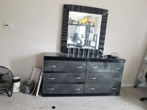 Bedroom dresser and headboard. for Sale in Macedonia, OH