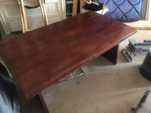 Large wooden coffee table for Sale in Pine River, MN