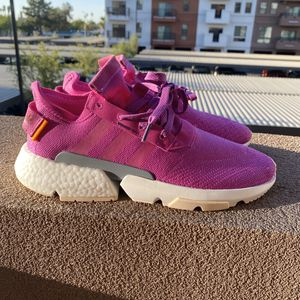 ADIDAS POD-S3.1 VIVID PINK SNEAKER SHOES SIZE 11 for Sale in Chandler, AZ