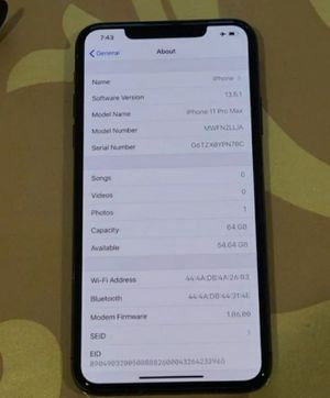 iPhone 11 pro max for Sale in Newport, ME
