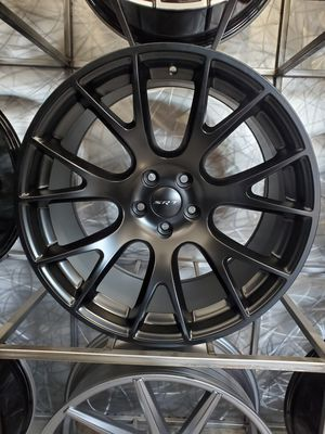 20x9 and 20x10.5 5x115 hellcat wheels fits charger challenger 300 satin black rim wheel tire shop for Sale in Tempe, AZ