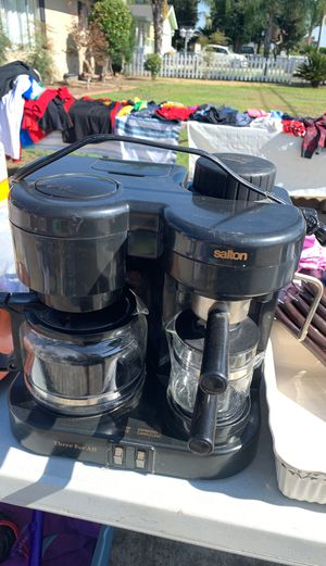 Salton 3-in-one coffee maker for Sale in Reedley, CA