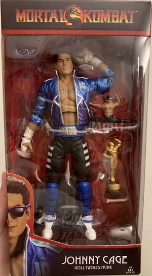 Mcfarlane Mortal Kombat Johnny Cage Figure for Sale in Fresno, CA