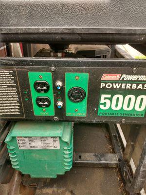Coleman 5000watt generator for Sale in West Linn, OR
