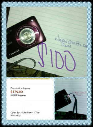 Nikon coolpix digital camera for Sale in Tulsa, OK