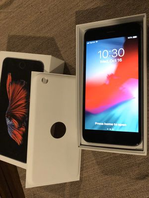 iPhone 6 S Plus for Sale in Virginia Beach, VA