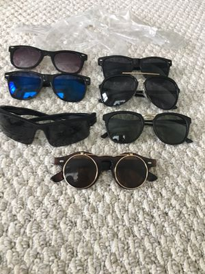 Various Mens sunglasses 7 pack for Sale in Lewis Center, OH