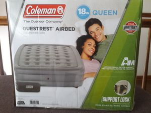 Queen Air Mattress, Coleman for Sale in Glen Ellyn, IL