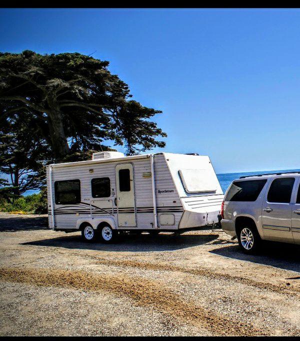 2001 kz sportsman travel trailer for Sale in Fontana, CA ...