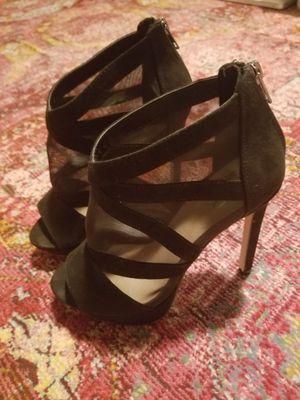 High heel pump booties black size 6 for Sale in Fairfax, VA