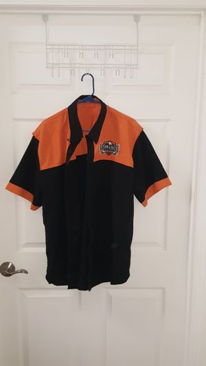 Eaglerider motorcycles USA classic orange black color 90s shirt for Sale for sale  West Covina, CA