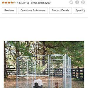 Galvanized Dog Kennel for Sale in Stevensville, MD