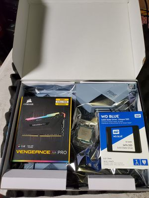 Combo i9 9900kf / 16gb ddr4 / 1tb SSD / z390 mobo for Sale in Los Angeles, CA