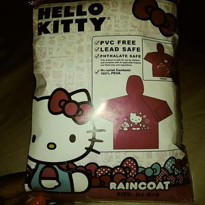 Hello kitty lite weight rain coat for Sale in Philadelphia, PA