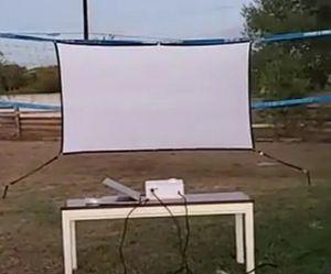100 inch projector screen for Sale in San Antonio, TX