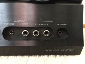 Onkyo TX-SR707 7.2 channel receiver for Sale in Fremont, CA