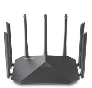 Speedefy AC2100 Smart WiFi Router - Dual Band Gigabit Wireless Router for Home & Gaming, 4x4 MU-MIMO, 7x6dBi External Antennas for Strong Signal for Sale in Milton, GA