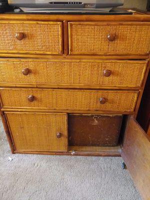 Oak/Bambo Bedroom set- Used for Sale in Pittsburg, CA
