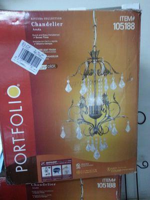 Portfolio chandelier for Sale in Greenville, SC
