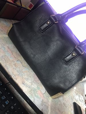 Black leather charming Charlie's purse for Sale in Cedar Hill, TX