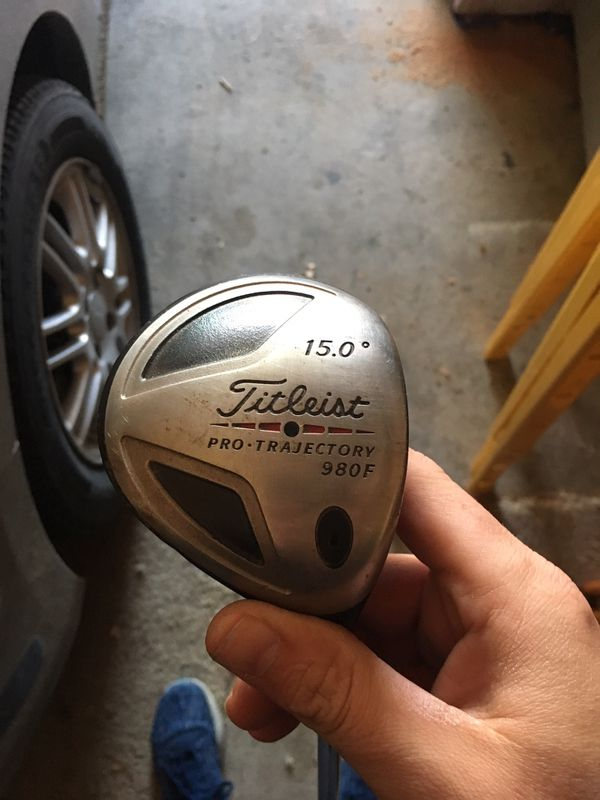 TITLEIST 980 3 WOOD RH