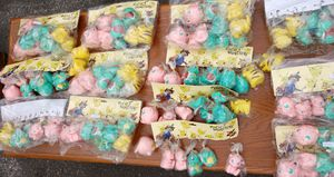 Pokemon Pocket monsters keyrings keychains squeaky Pikachu Squirtle Togepi mew Jigglypuff for Sale in Hyattsville, MD