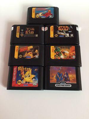Sega 32X + Sega Genesis Games bundle / Please read the description for Sale in Seattle, WA