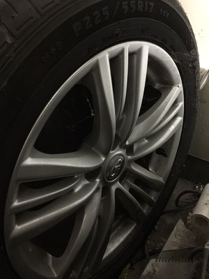 G37 wheels and tires for Sale in Irvine, CA