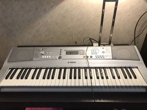 Yamaha 61 key electronic keyboard for Sale in Salt Lake City, UT