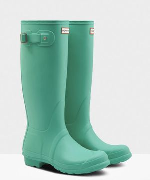 Hunter Boots Original Tall - Ocean Swell - women's size 6 for Sale in Dallas, TX