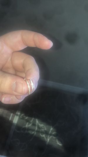 Rose gold diamond earrings for Sale in Chino, CA