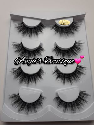 Eyelashes Style #L03 - 4 Pair Packs for Sale in Palmdale, CA