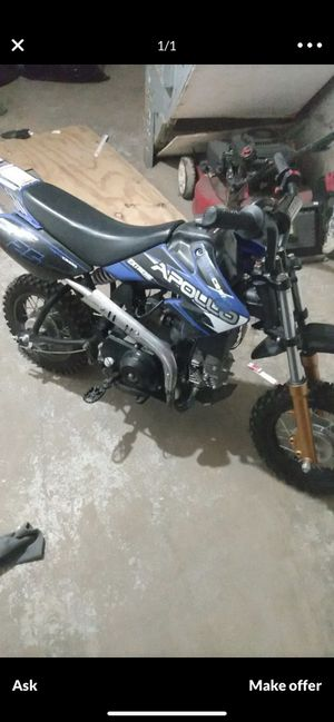 Apollo dirt bike runs great ready to ride and in excellent condition for Sale in Philadelphia, PA