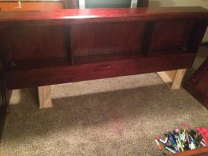 This cherry finished king size bed frame for Sale in Phenix City, AL