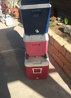 Coolers -ALL 3 for $20 for Sale in Irwindale, CA