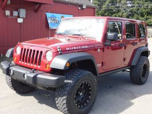 2013 Jeep Wrangler Unlimited Unlimited Rubicon 4WD ! for Sale in Seattle, WA