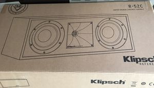 Klipsch R-52C center channel home theater speaker for Sale in La Mesa, CA