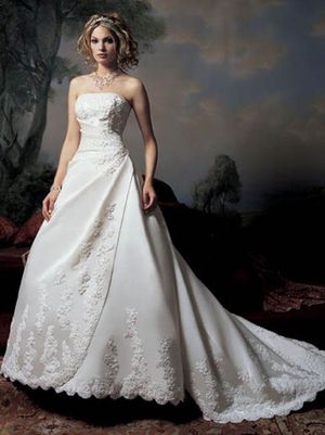 Demetrios Collection Wedding Dress-NEVER USED for Sale in Columbus, OH