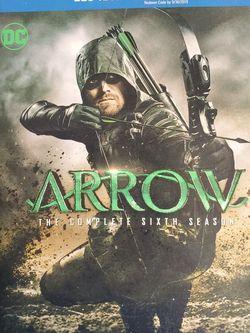 Arrow: The Complete Sixth Season Season Blu-Ray Box Set for Sale in Brooklyn, NY