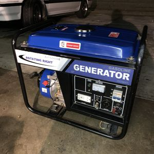 Good used portable generator. Good working conditions 2300 running watts. Two 120 v AC outlets one 240v AC and one 12 v DC. for Sale in Palmdale, CA