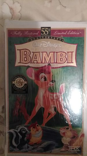 55th Limited Edition Bambi for Sale in Oldsmar, FL